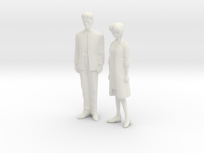 1/43 Parents in White Natural Versatile Plastic