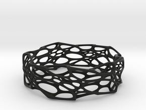 Morph Bangle in Black Natural Versatile Plastic: Small