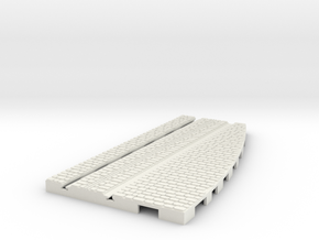 P-165stw-lh-cross-straight-250r-plus-100-live-3a in White Natural Versatile Plastic