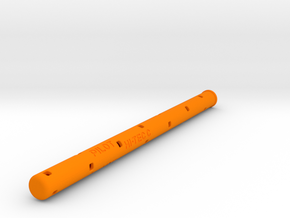 Adapter: Pitot Hi-Tec C to Uni UMR-109 in Orange Processed Versatile Plastic