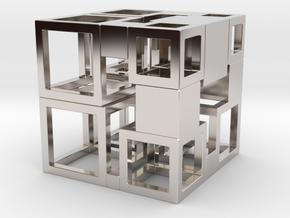 Perfect Cubed Cube Frame 43-19-1 in Platinum