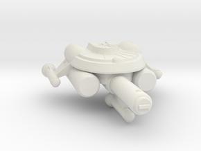 3788 Scale Seltorian Frigate (FF) MGL in White Natural Versatile Plastic
