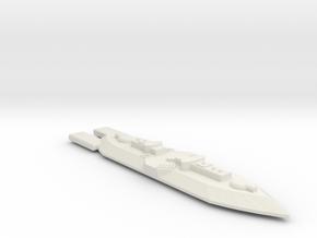 3788 Scale Frax Frigate (FF) MGL in White Natural Versatile Plastic
