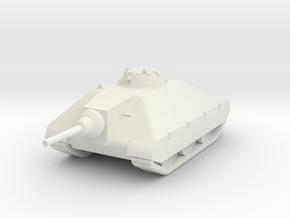 1/144 Porsche Schwerer Kleiner Panzer mit leFH.43 in White Natural Versatile Plastic