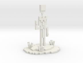 TheVillagerKingGamer's Desk Display in White Natural Versatile Plastic