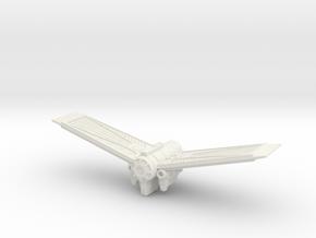 TIE Scout in White Natural Versatile Plastic