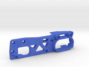 Tamiya M04 - M04S (210mm Wheelbase) chassis -  L in Blue Strong & Flexible Polished