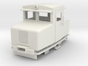 Edan loco  in White Natural Versatile Plastic: 1:35