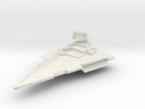 Victory Star Destroyer in White Strong & Flexible