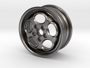 "Porsche 928 16"" Phone Dial Wheel in Polished Nickel Steel"