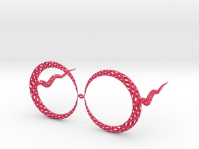 Eye wear 2 in Pink Processed Versatile Plastic