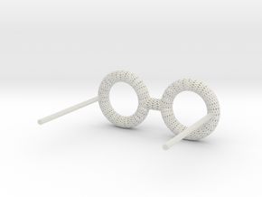 Eyewear 1 Honeycomb Wire in White Natural Versatile Plastic