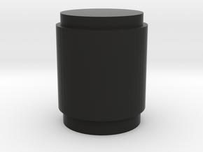 Round TACAN in Black Natural Versatile Plastic