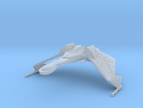 1/2500 QuD Frigate - Attack mode (oversized detail in Smooth Fine Detail Plastic