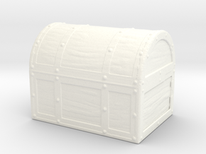 Pirate Smoothie - Chest Only in White Processed Versatile Plastic