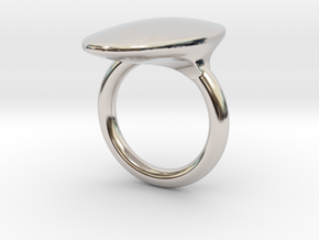OvalRing - SIZE 10 US in Platinum: 10 / 61.5