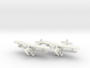 Hawker Audax (two airplanes set) 1/285 6mm in White Natural Versatile Plastic