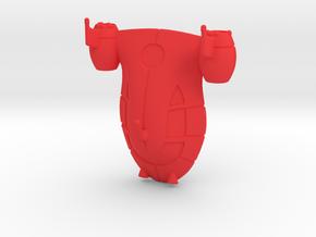Rocket from Little Einsteins in Red Processed Versatile Plastic