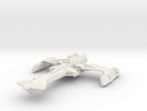 Klingon D11 Wildwind Class  ScoutDestroyer in White Natural Versatile Plastic