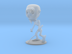 Minion Posed Color in Smooth Fine Detail Plastic