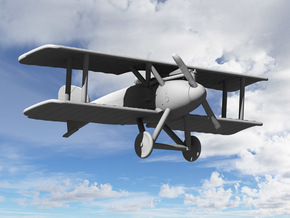 Albatros D.II (Early) in White Natural Versatile Plastic: 1:144