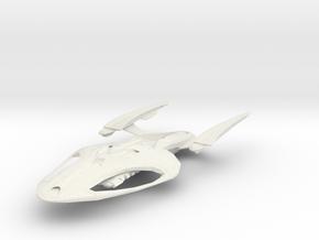 Austin Class  BattleCruiser in White Natural Versatile Plastic