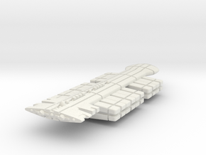 Freighter Type 3 in White Natural Versatile Plastic