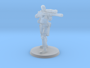 37mm Andrew 'Bones' in Smooth Fine Detail Plastic
