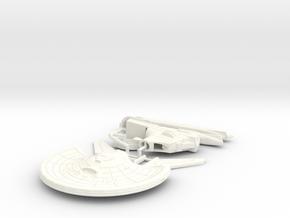 1400 Hornet In Parts in White Processed Versatile Plastic