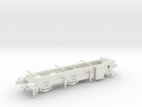 LB&SCR E2  - EM Chassis in White Natural Versatile Plastic