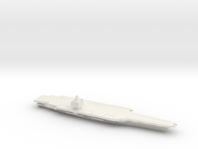 USS CVN-65 Enterprise (1962), 1/1400 in White Natural Versatile Plastic