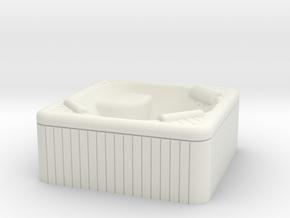 Jacuzzi Outdoor Hot Tub OO-gauge 1-76.2 in White Natural Versatile Plastic