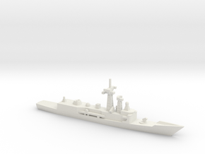 Cheng Kung-class frigate, 1/2400 in White Natural Versatile Plastic