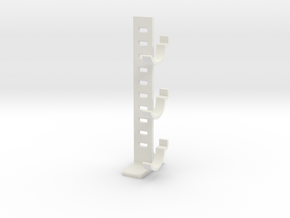 Blade Holder Ladder in White Natural Versatile Plastic