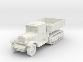 ZIS truck (Russia) 1/87 in White Natural Versatile Plastic