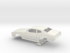 1/8 Pro Mod Maverick W Sm Cowl in White Natural Versatile Plastic