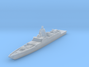 "Frigate Project 22350 ""Admiral Gorshkov"" in Smooth Fine Detail Plastic: 1:1250"