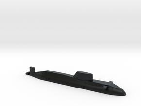 Astute-class SSN, 1/1800 in Black Hi-Def Acrylate