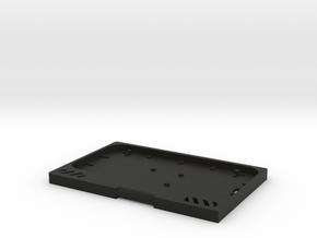 RASPBERRY UMPC KEYBOARD BEZEL in Black Natural Versatile Plastic