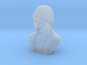 3D Sculpture of Eminem in Smooth Fine Detail Plastic