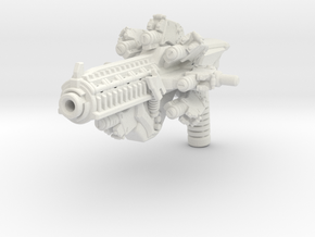 Time Blaster for TLK Hot Rod in White Natural Versatile Plastic