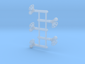 """HO Scale 3Pos. TO Semaphore Pointed 42"""" in Smoothest Fine Detail Plastic"""