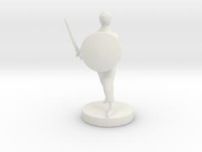 FutureGladiator2 in White Natural Versatile Plastic