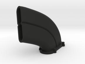 Avro Lanc Exhaust Left in Black Natural Versatile Plastic