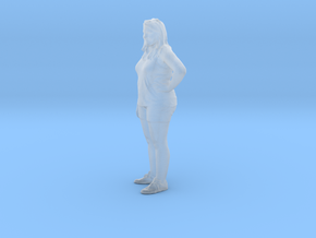 Printle C Femme 102 - 1/87 - wob in Smooth Fine Detail Plastic