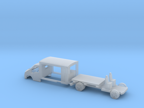 N Gauge Transit Milk Float in Smooth Fine Detail Plastic