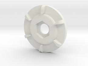 m12 sidewinder gear in White Natural Versatile Plastic