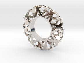 Fidget Spinner Simplest Wire 1 in Platinum