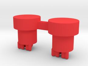 NLPWM SQUONK ACTUATORS  in Red Processed Versatile Plastic