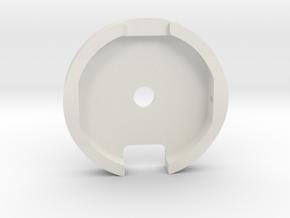 M12 Side Winder Wheel  in White Strong & Flexible